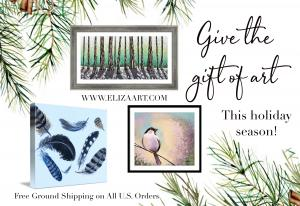 Give the Gift of Art This Holiday Season