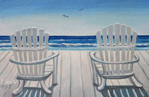 NEW Beach Chair Painting